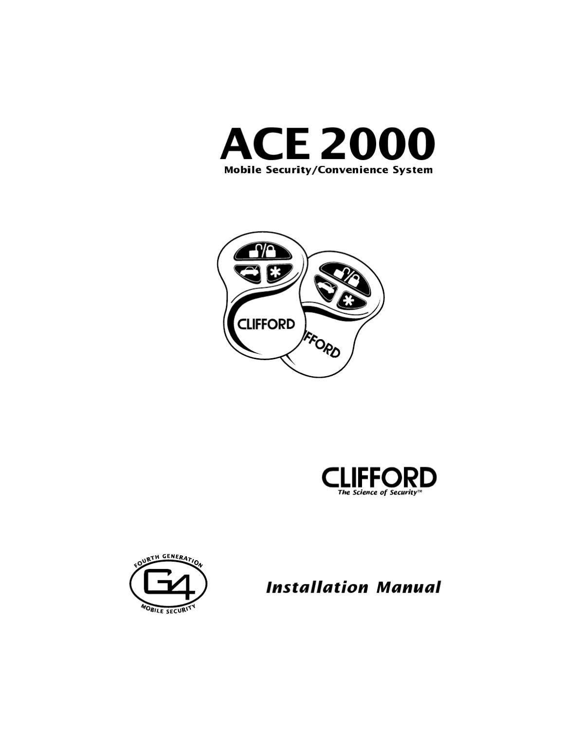 clifford ace 2000 wiring diagram for alarm clifford ace 2000
