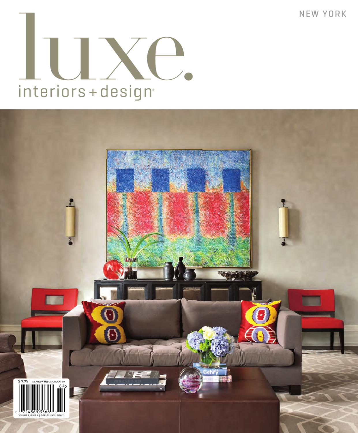 Interio Sofa Marilyn Luxe Interiors Design Ny 3 By Sandow Media Issuu