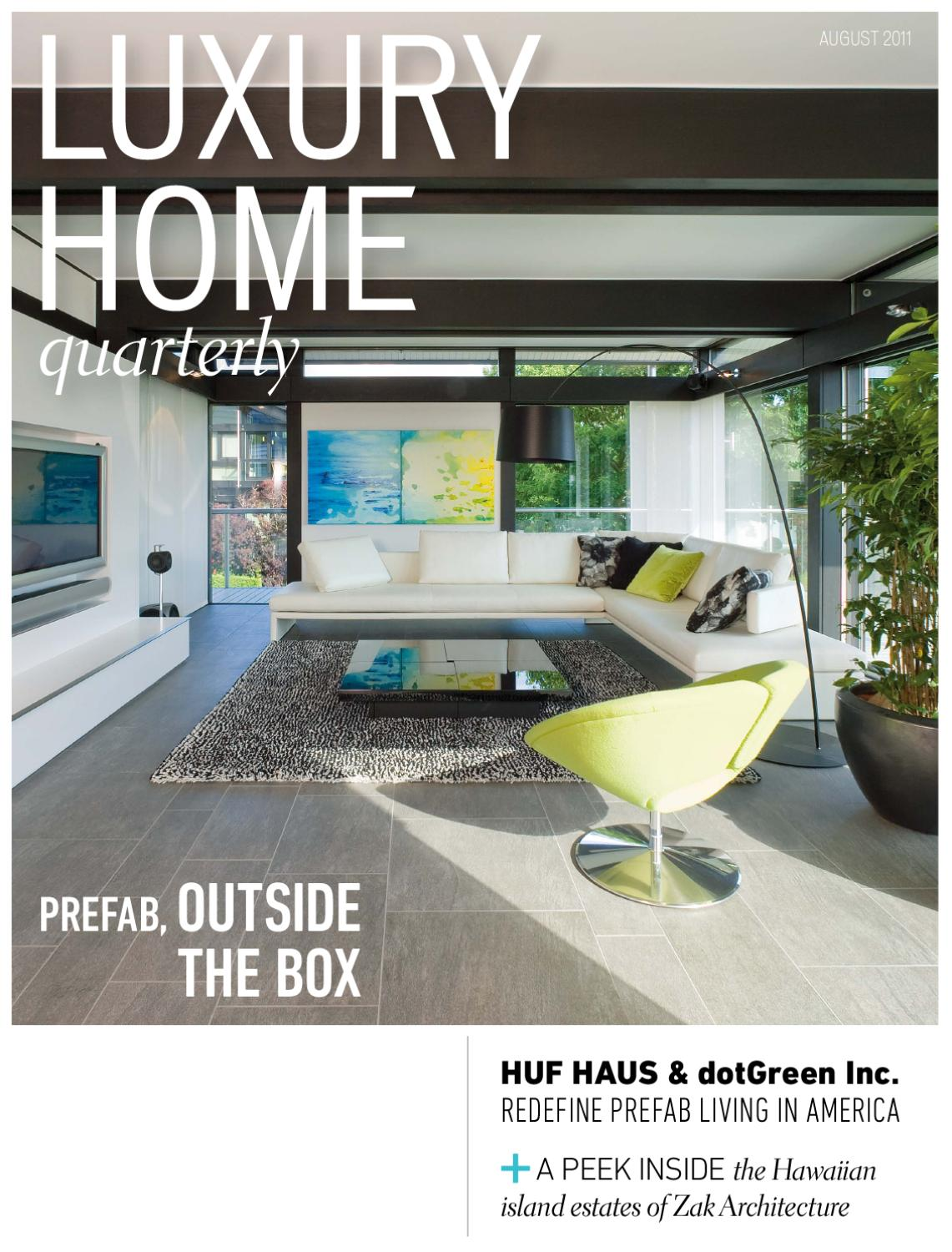Container Haus Löhne Luxury Home Quarterly Issue 12