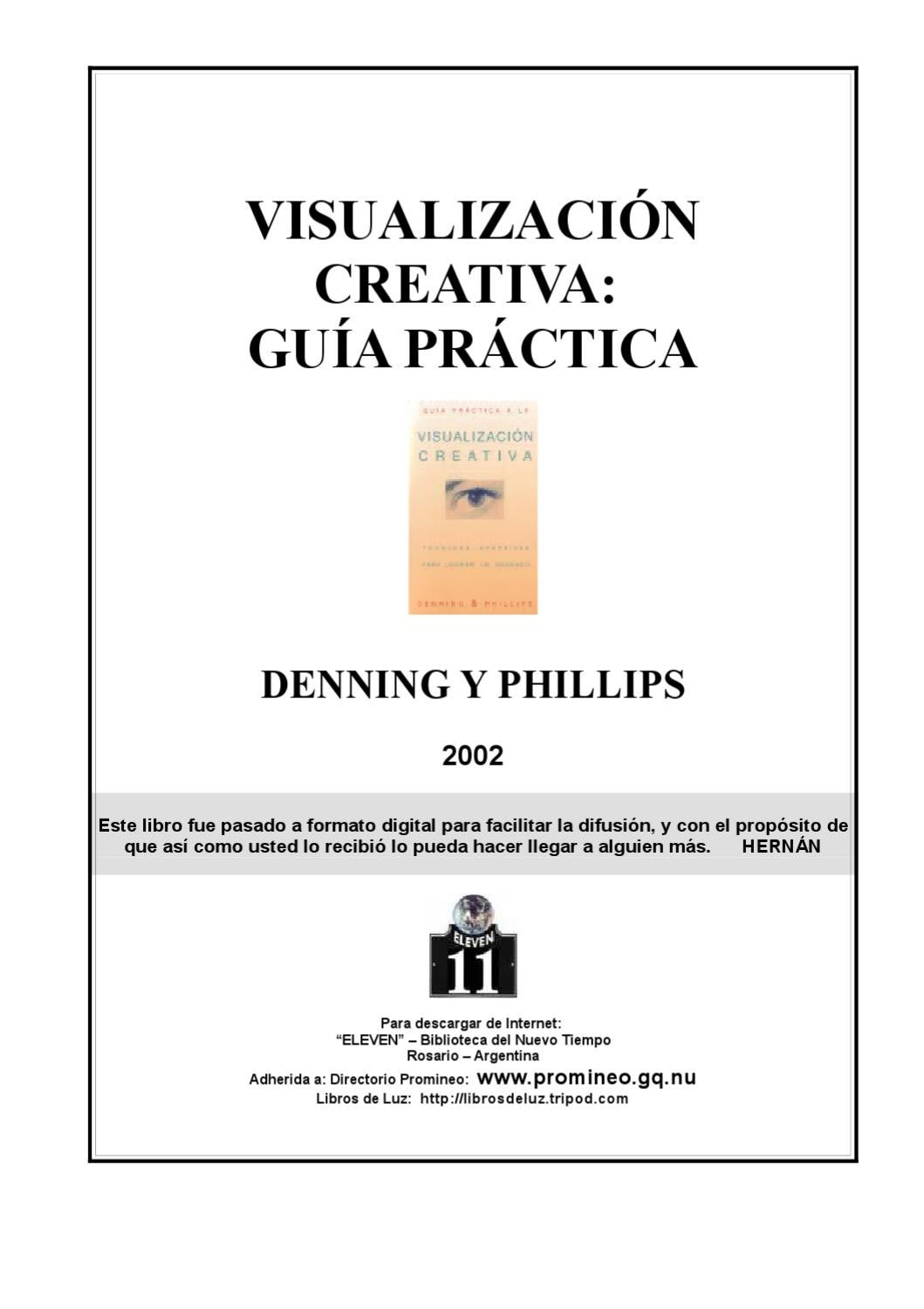 Libro Visualizacion Creativa Visualización Creativa Guía Practica Denning Y Phillips