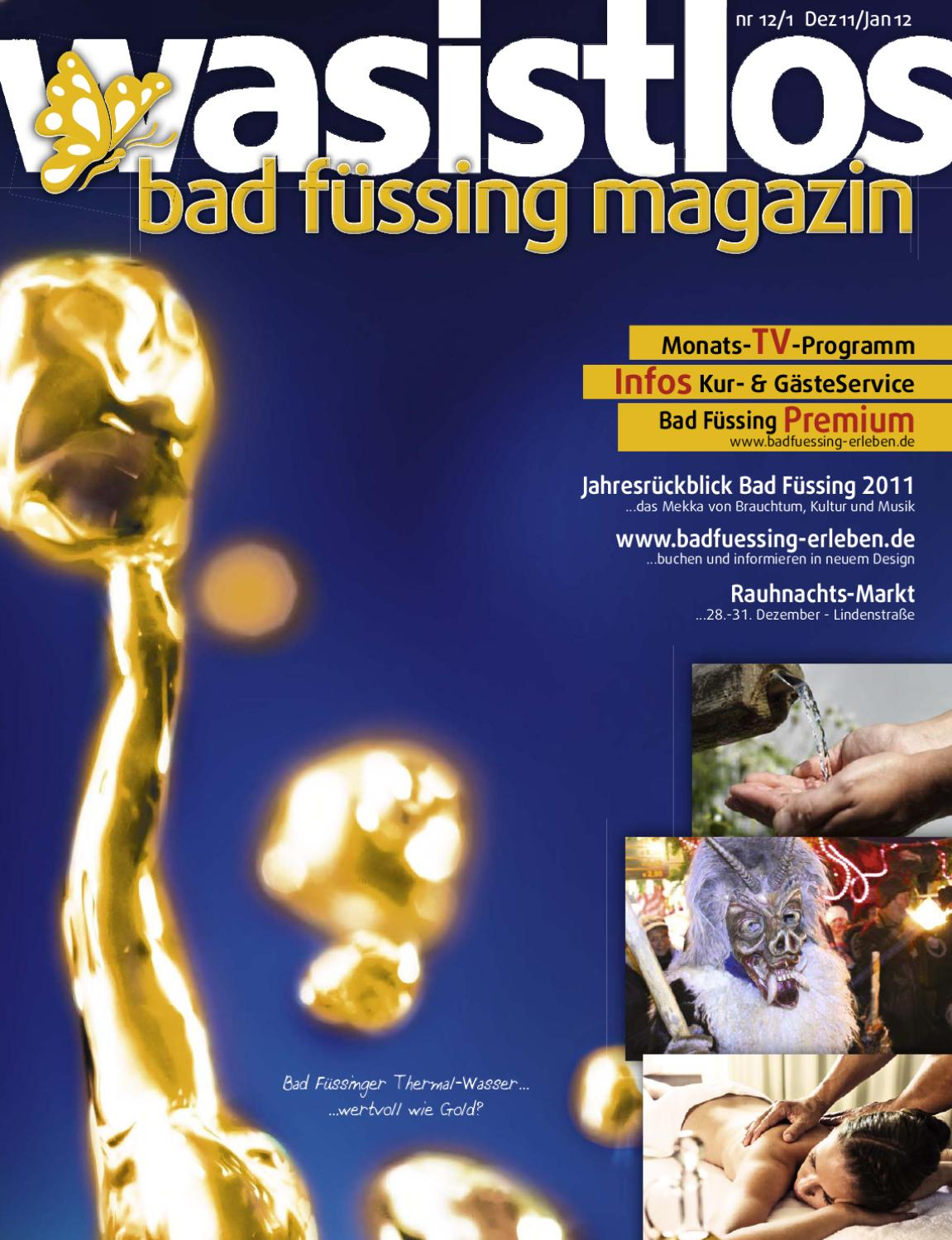Landhaus Putz Bad Füssing Wasistlos Bad Füssing Magazin 12 11 01 12 By Remark