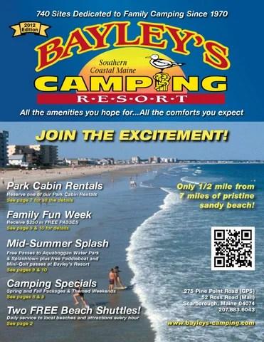 Bayley\u0027s Camping Resort Brochure 2012 by Gaelan Bayley - issuu