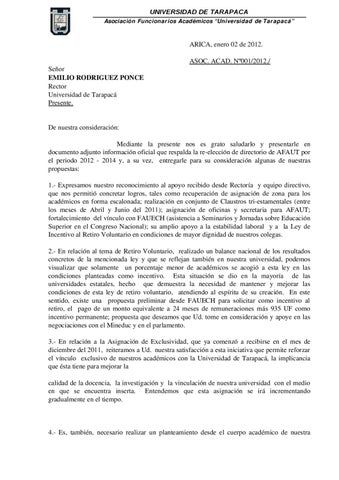 Carta Solicitud a Rector 02-01-12 by afaut - issuu