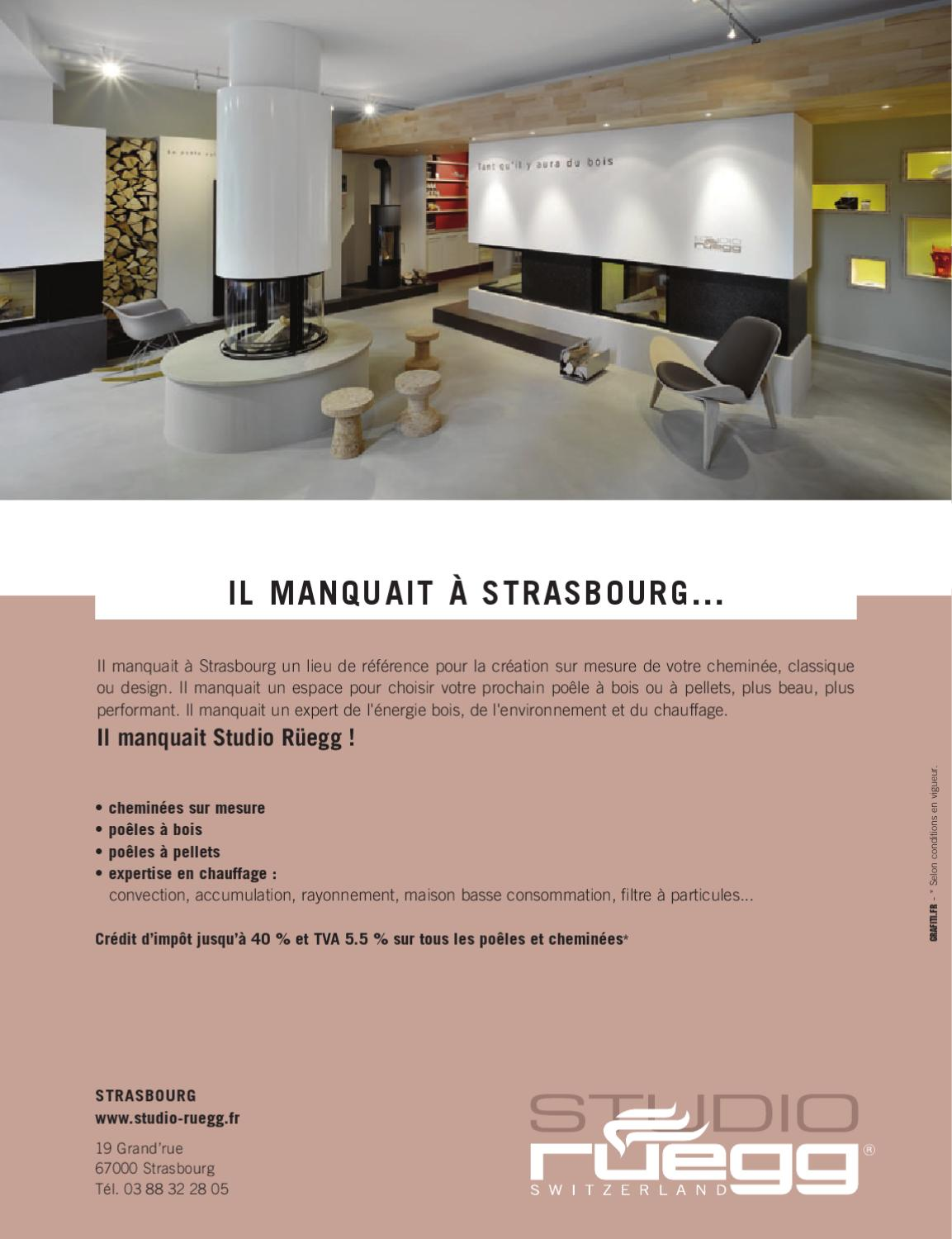 Cheminees Strasbourg Zut 07 By Zut Magazine Issuu