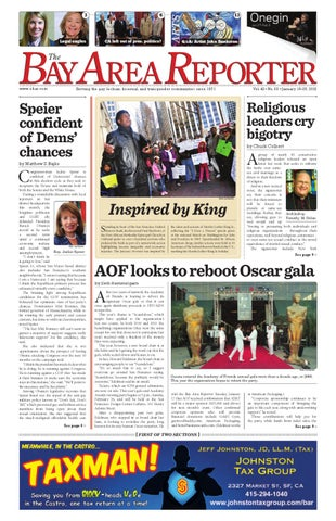Janury 19, 2012 edition of the Bay Area Reporter by Bay Area