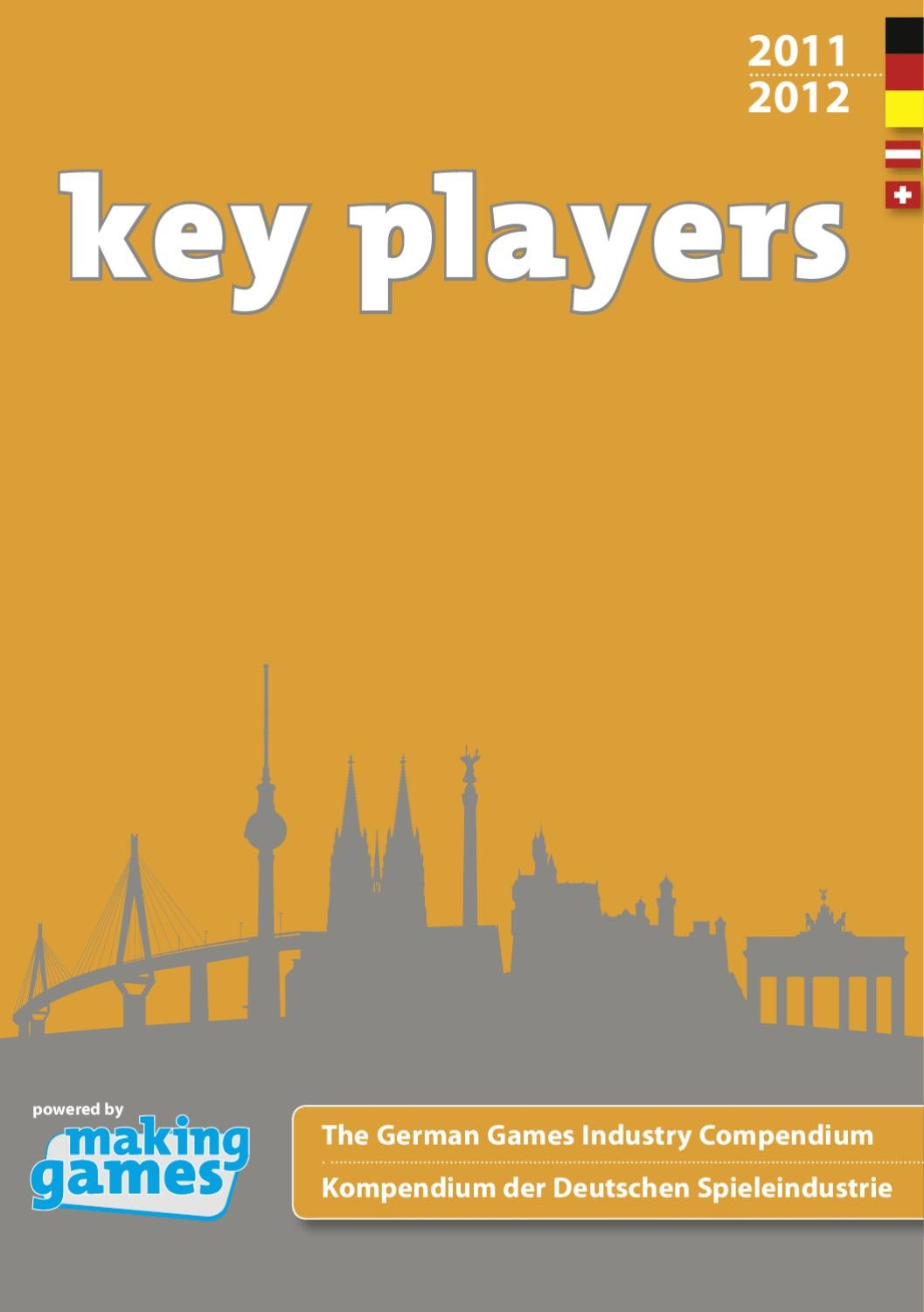 Gfk Pool Duisburg Key Players 2011 2012 By Making Games Issuu