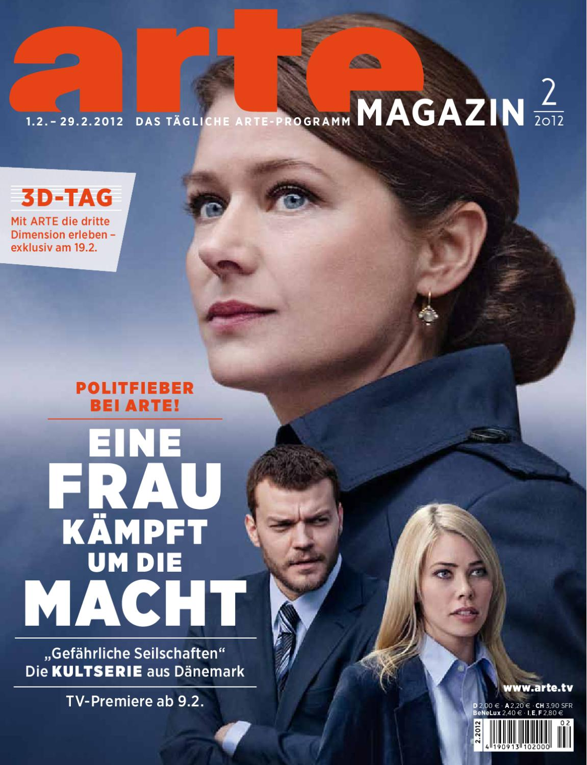 Arte Journal Programm Arte Magazin