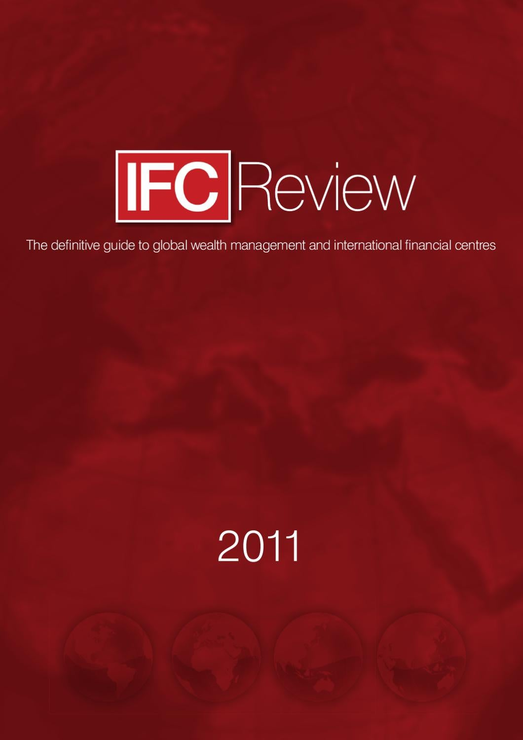 Cash Pool Organschaft Ifc Review 2011 By Vortex Creative Ltd Issuu