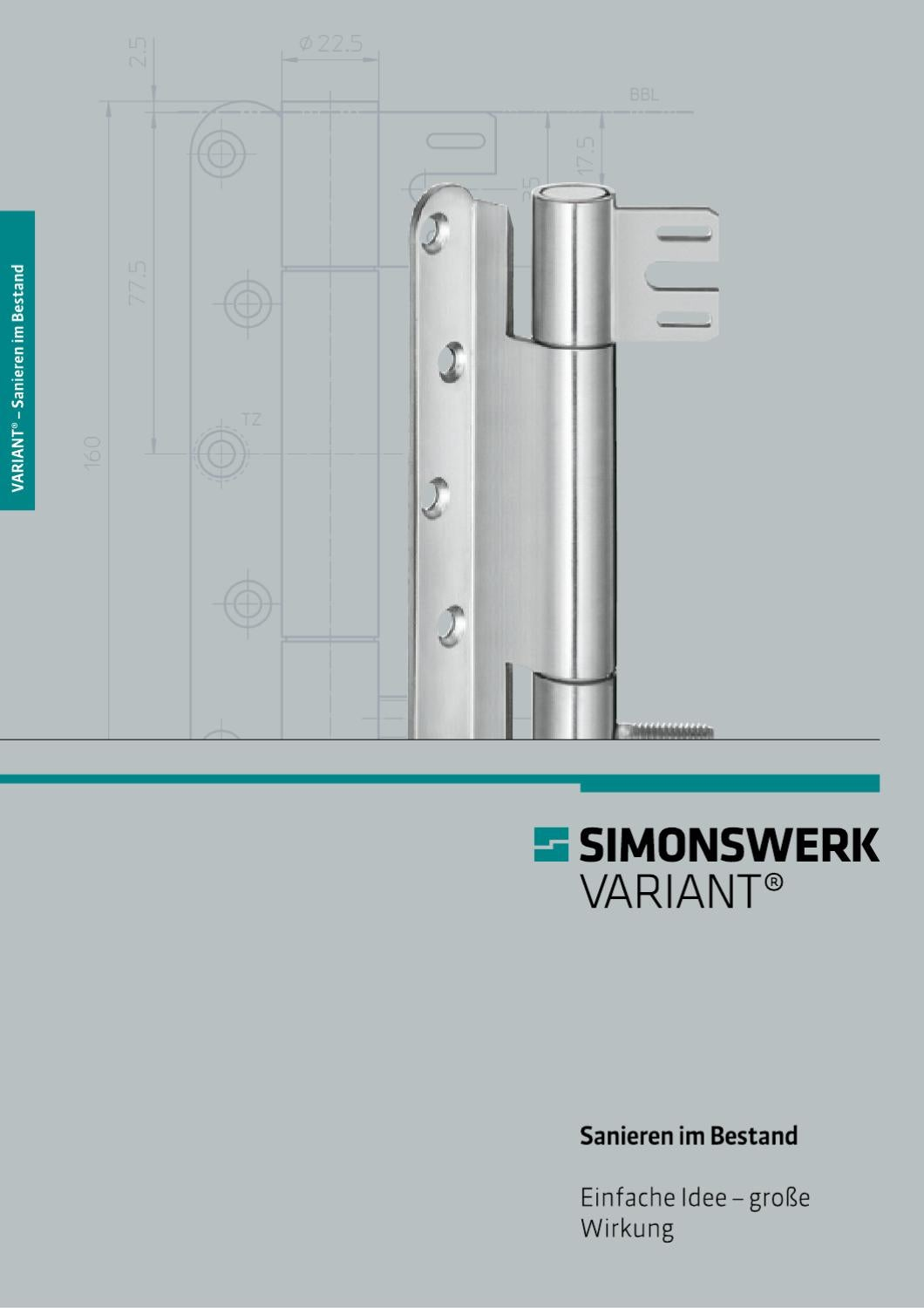 Holzzarge über Stahlzarge Simonswerk Variant® By Simonswerk Gmbh - Issuu