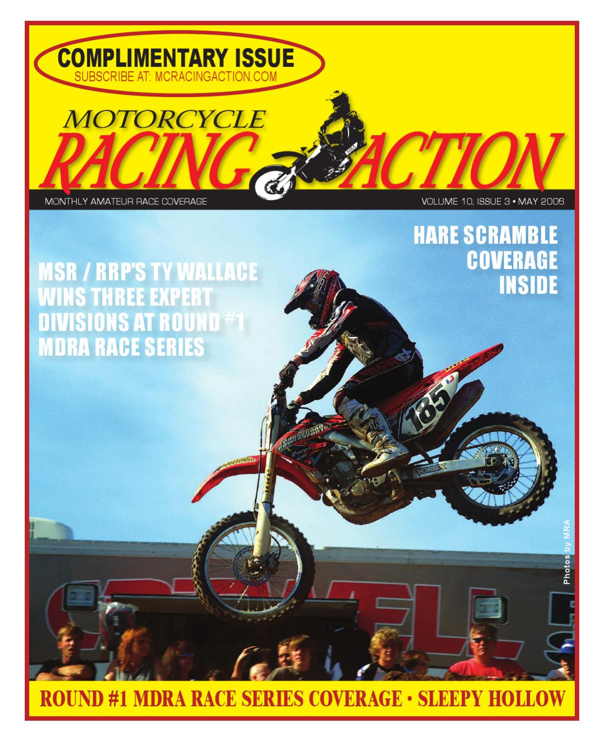 Acr Langenbach Mra May 2006 By Motorcycle Racing Action Issuu