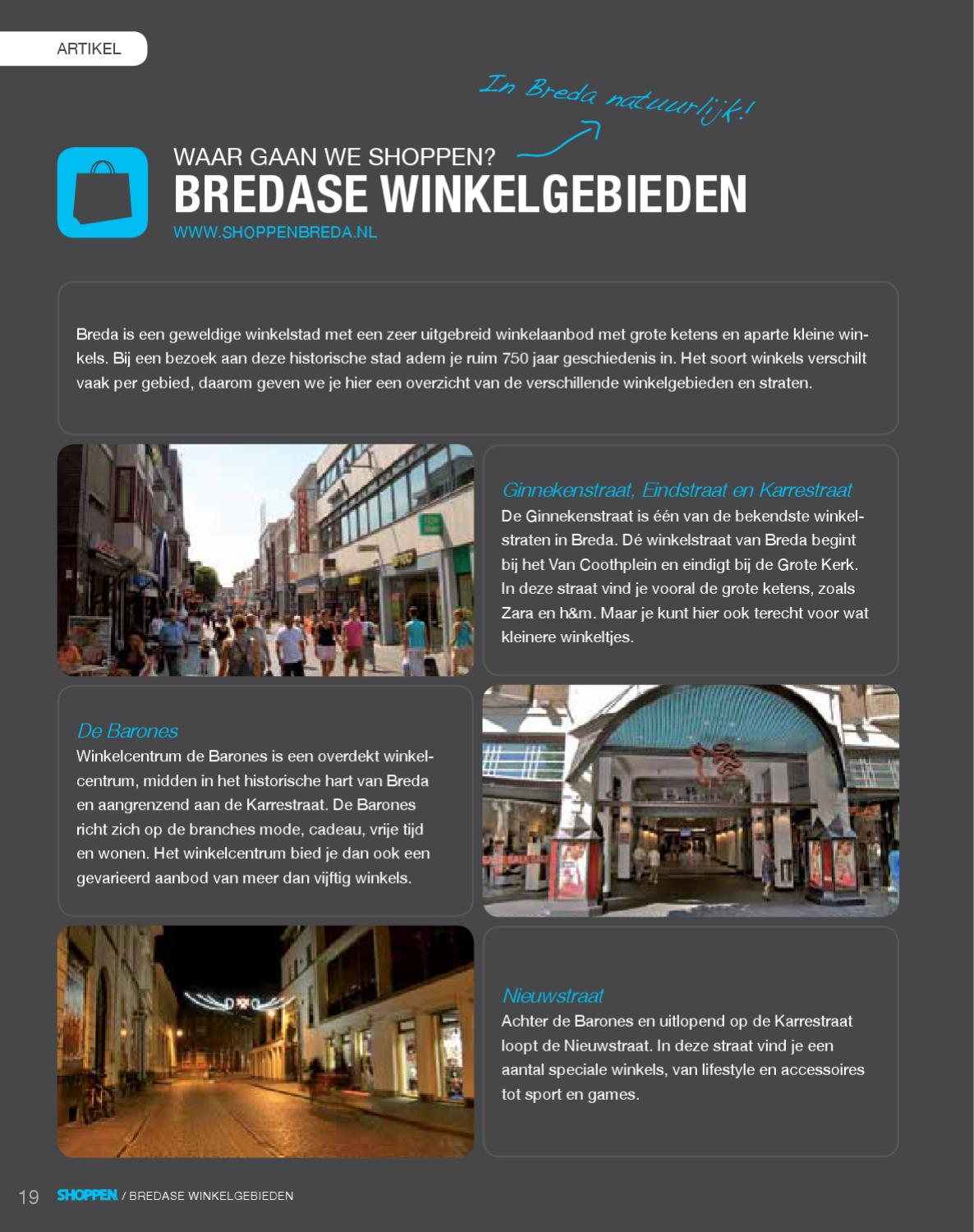 Game Winkel Breda Shoppen Breda Magazine 2012 By Stappen Shoppen Issuu