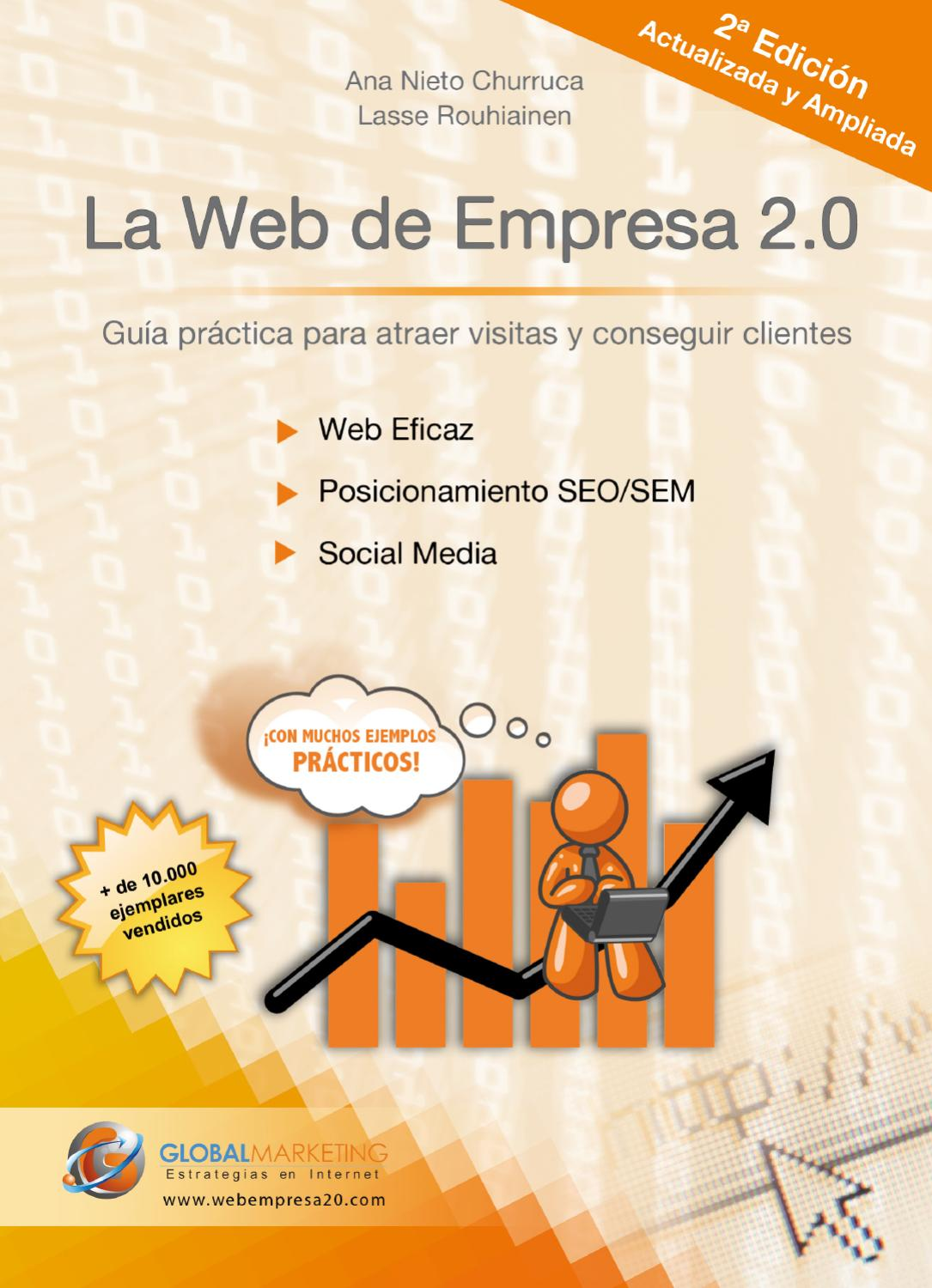 Libro De Visitas Empresa La Web De Empresa 2 2ª Edición By Global Marketing