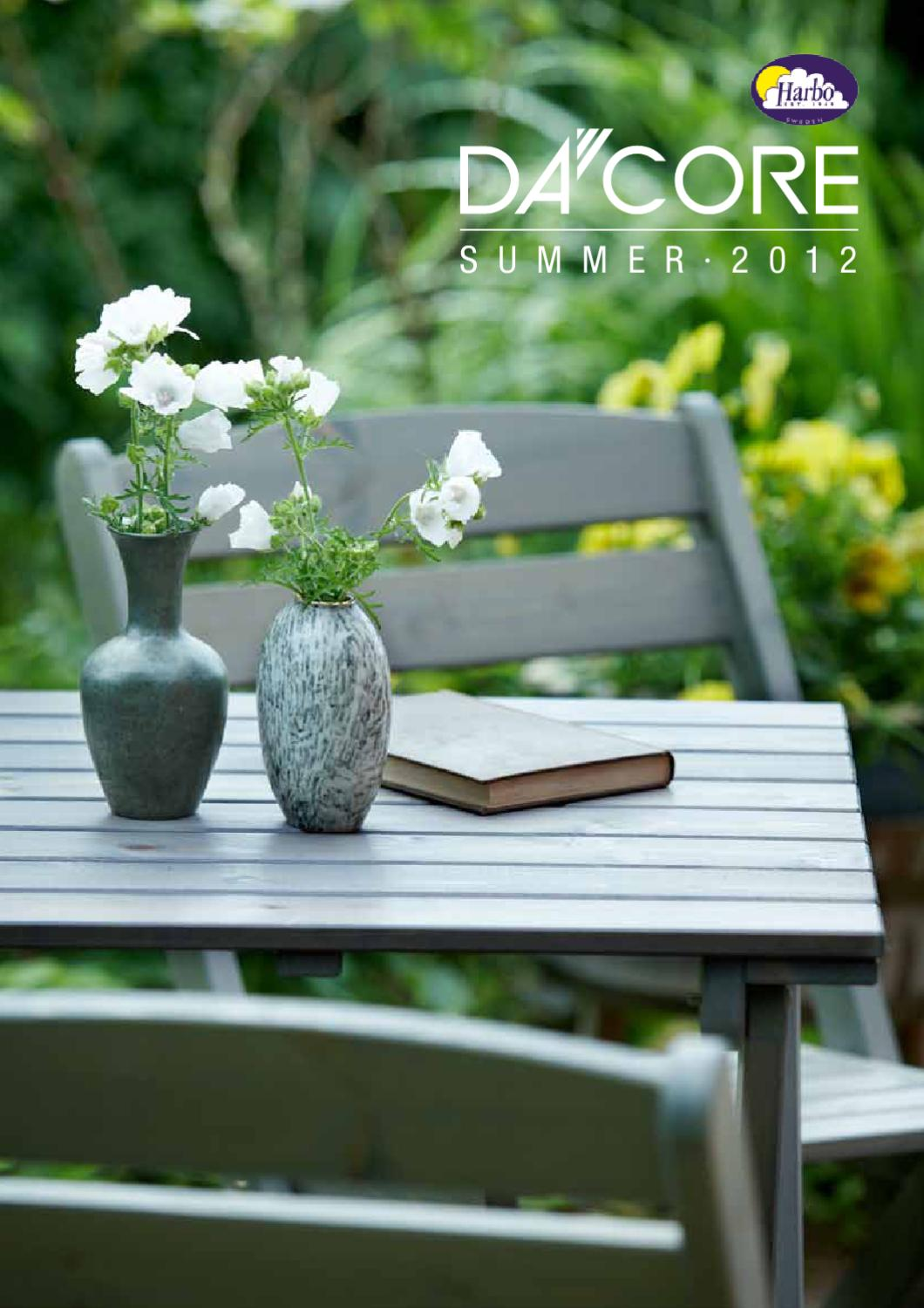 Dacore Harbo Garden Furniture Outdoor Catalog 2012 By Lakbermagazin Issuu