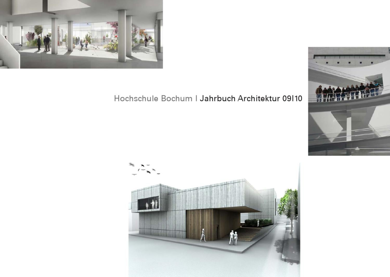 Bochum Architektur Jahrbuch Architektur Hs Bochum 2010 By Harald Gatermann Issuu