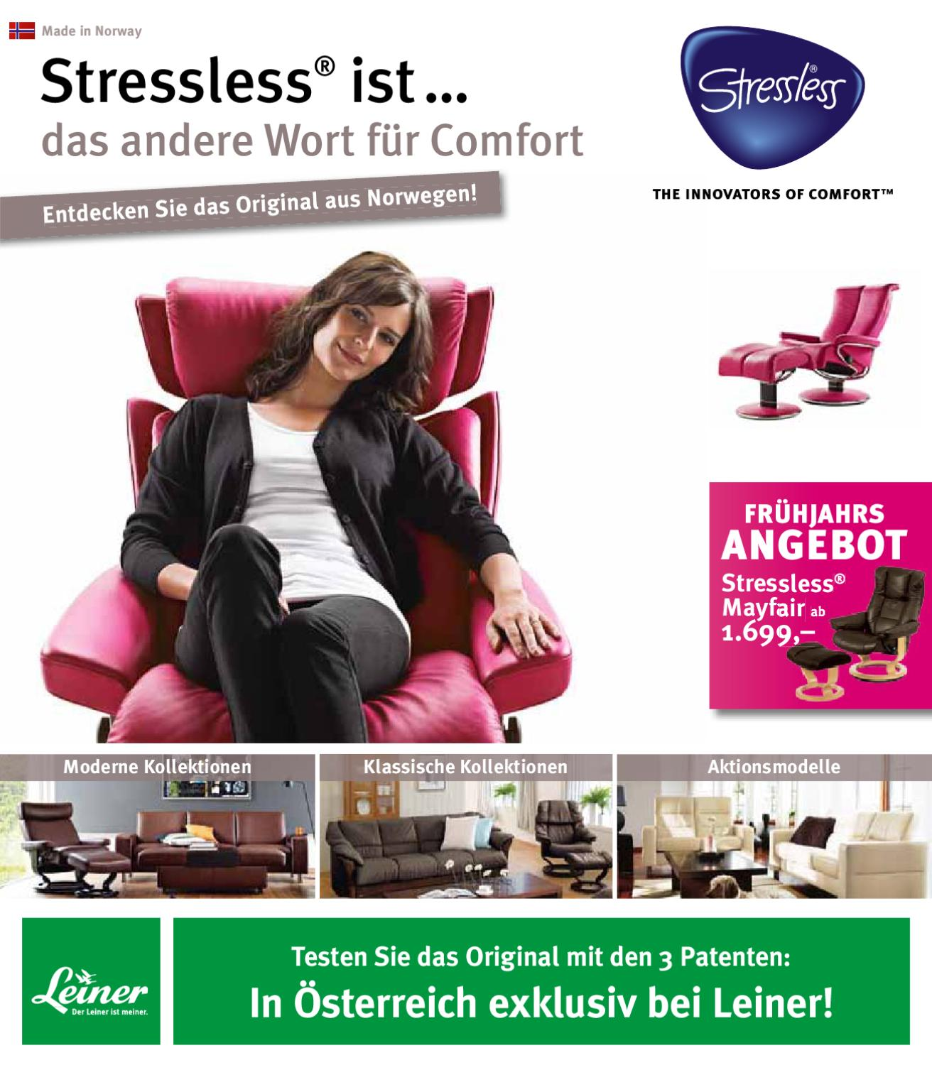 Sessel Leiner Leiner Stressless 06 02 29 04 12 By Aktionsfinder Gmbh