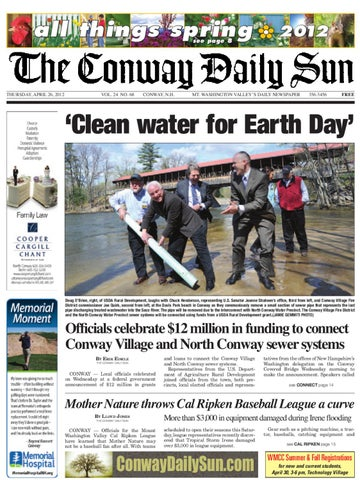 The Conway Daily Sun, Thursday, April 26, 2012 by Daily Sun - issuu