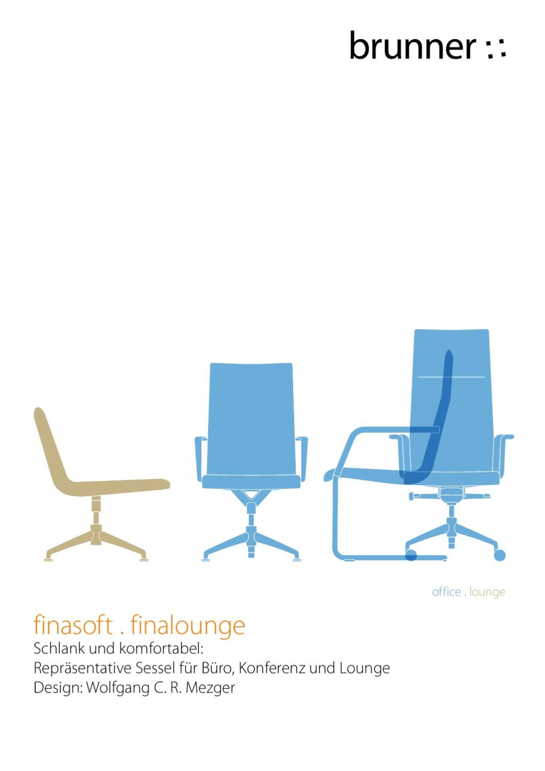 Brunner Sessel Katalog Brunner Fina Soft By Wipper Buerodesign Gmbh Issuu