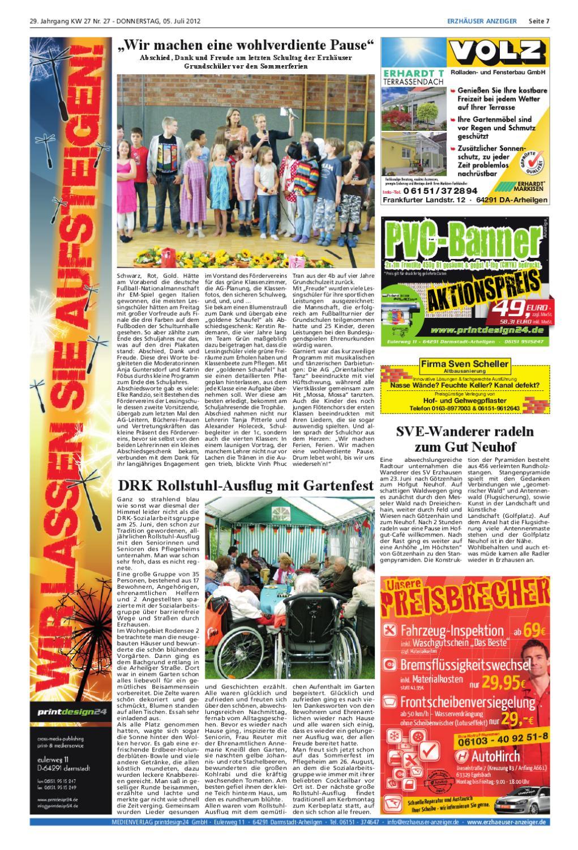 Erzhuser Anzeiger KW27 by printdesign24gmbh