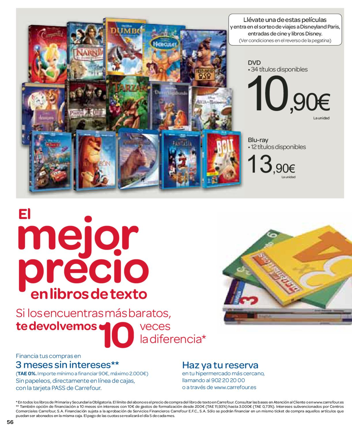 Libros Carrefour Carrefour Catalogo Folleto Hipermercado 18 Julio 2012 By