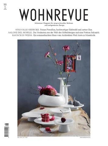 WOHNREVUE 06\/12 by Boll Verlag - issuu - designer schranke holz keramik