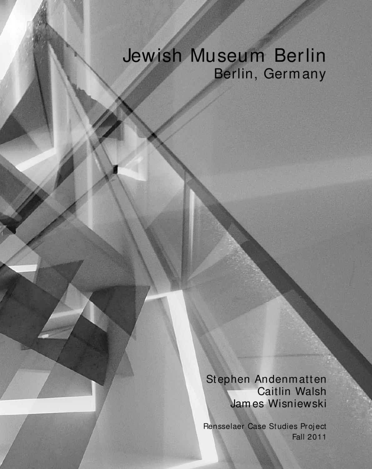Jewish Cemetery At Grosse Hamburger Strasse In Berlin Germany Case Study Jewish Museum Berlin By Daniel Libeskind