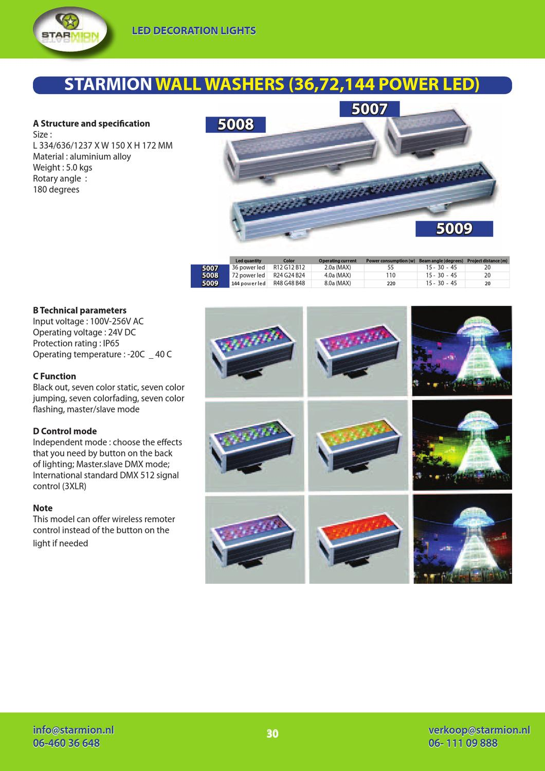 Verlichting Rail Led Starmion Led Verlichting Productcatalogus By Mark E Ting Issuu
