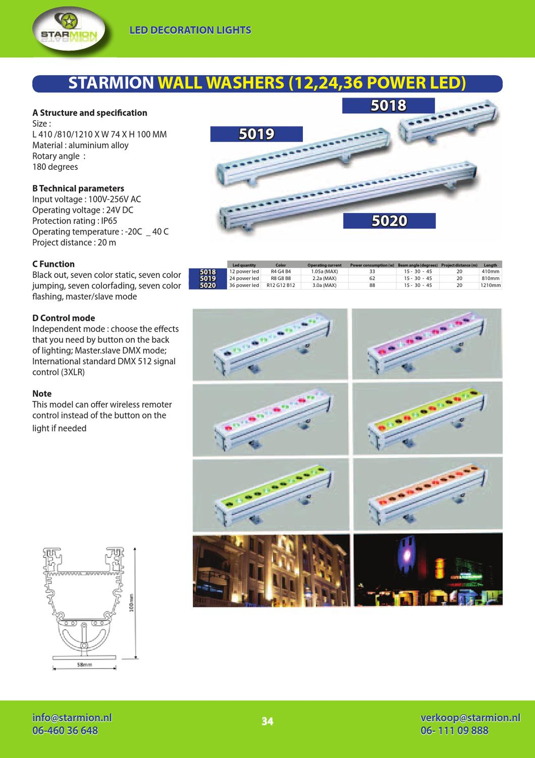 Dmx Verlichting Starmion Led Verlichting Productcatalogus By Mark E Ting Issuu
