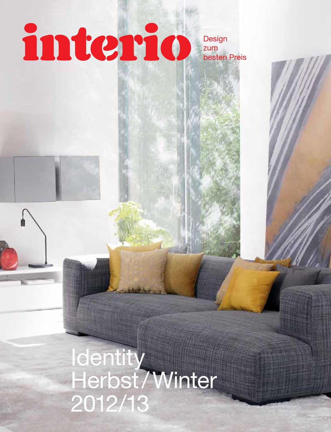 Interio Sofa Samt Interio Trendkatalog 2012 13 By Interio Oesterreich Issuu