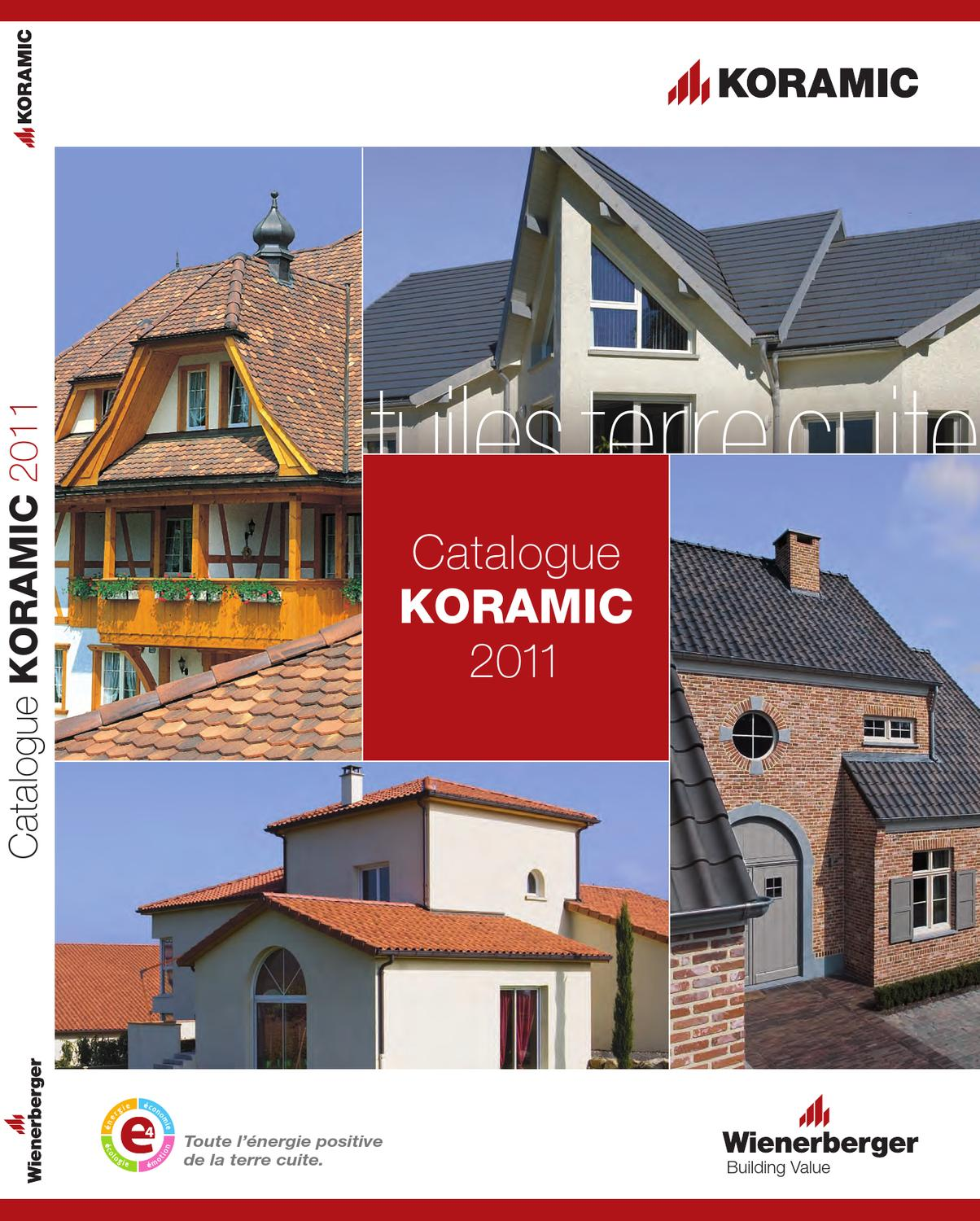 Catalogue Général Koramic By Wienerberger Ag Issuu
