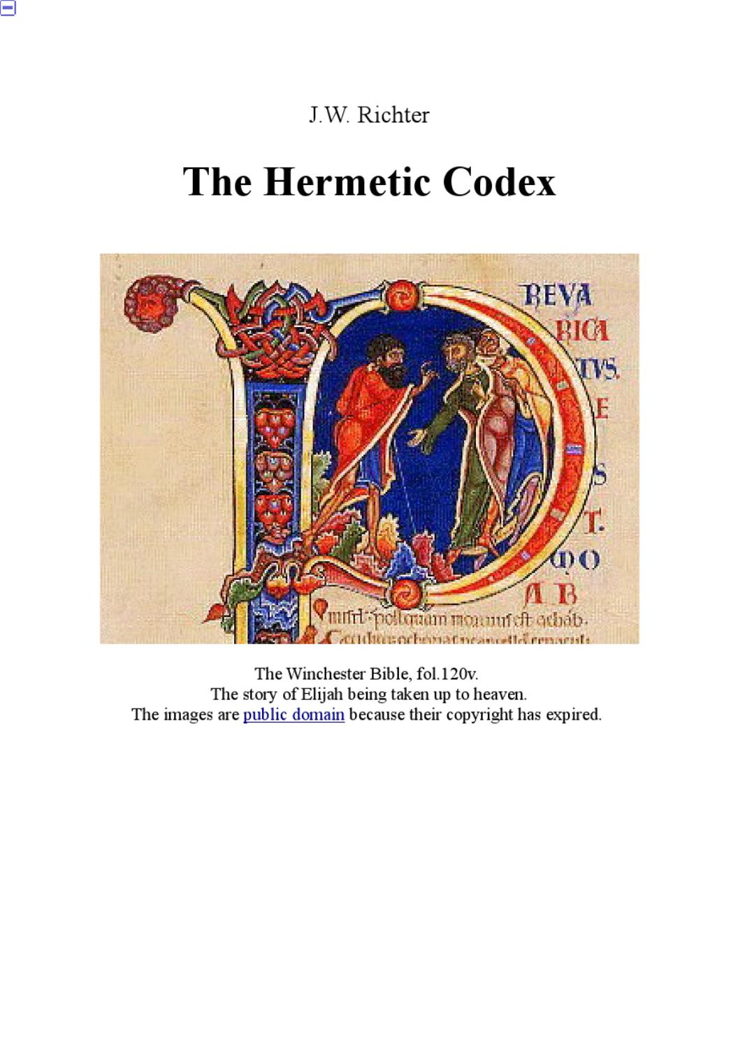 32981510 The Hermetic Codex By Cheri Burns Issuu - Vorhang Dict