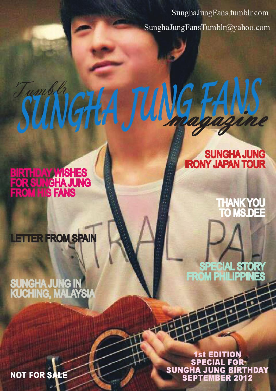 1st Edition Sungha Jung Fans Tumblr Online Magazine By Sungha Jung Fans Tumblr Issuu