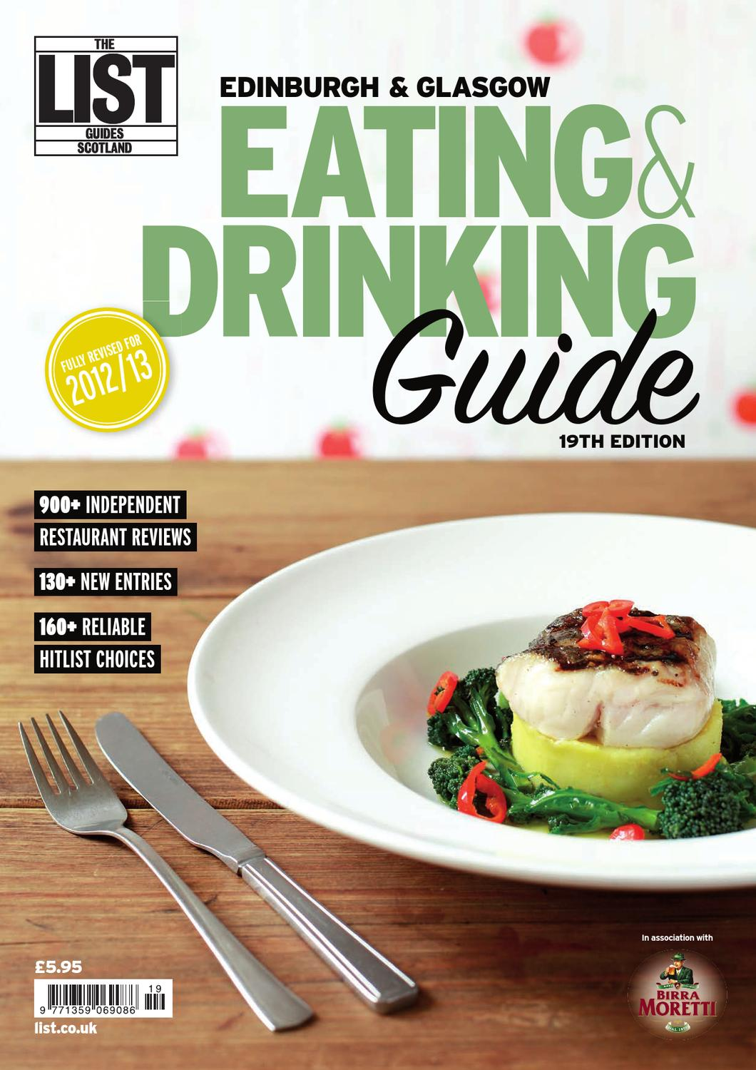 Cucina Antica Tomato Basil Uk Eating And Drinking Guide 2012 By The List Ltd Issuu