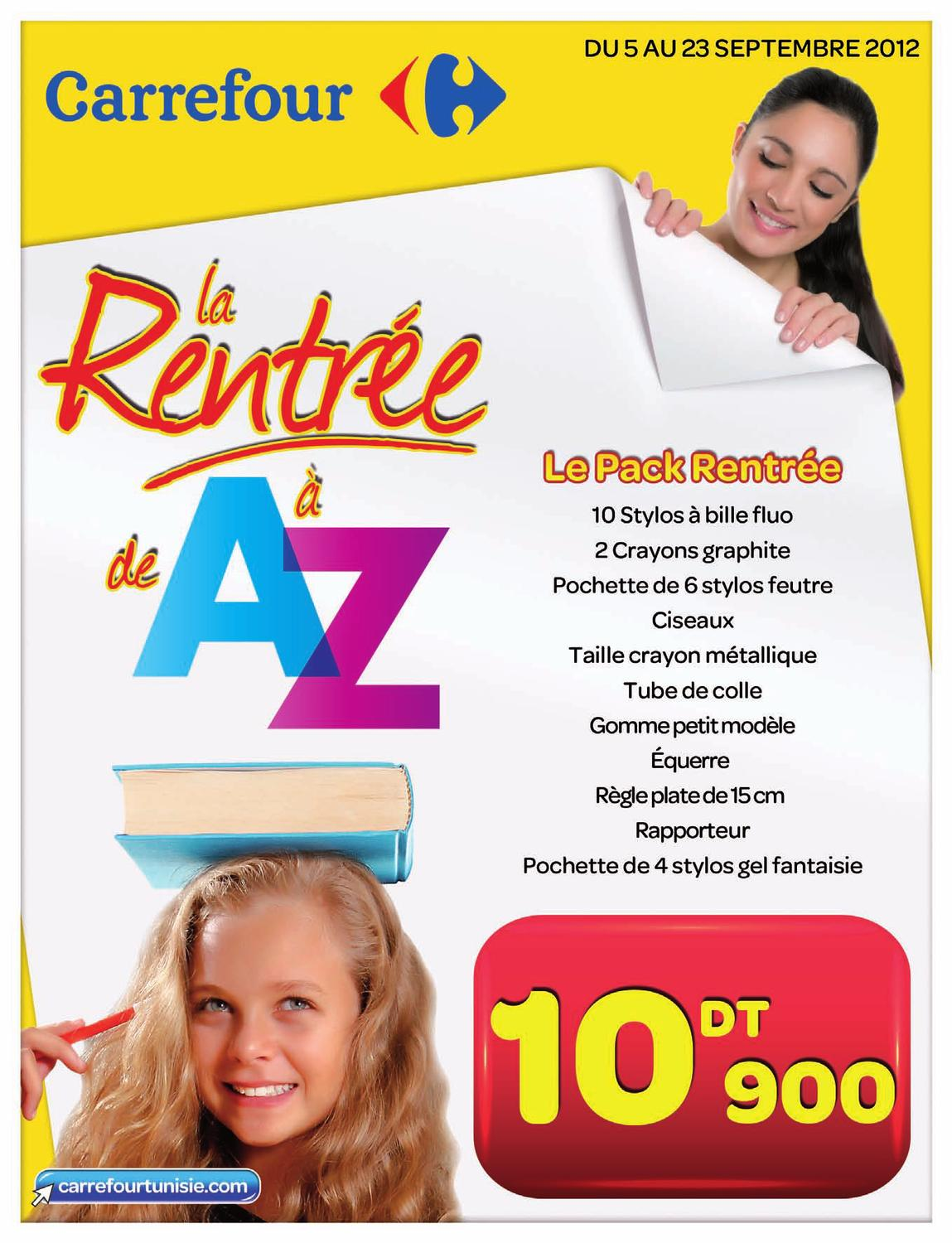 Ardoise Velleda Carrefour Catalogue Carrefour Rentree Scolaire 2012 1013 By