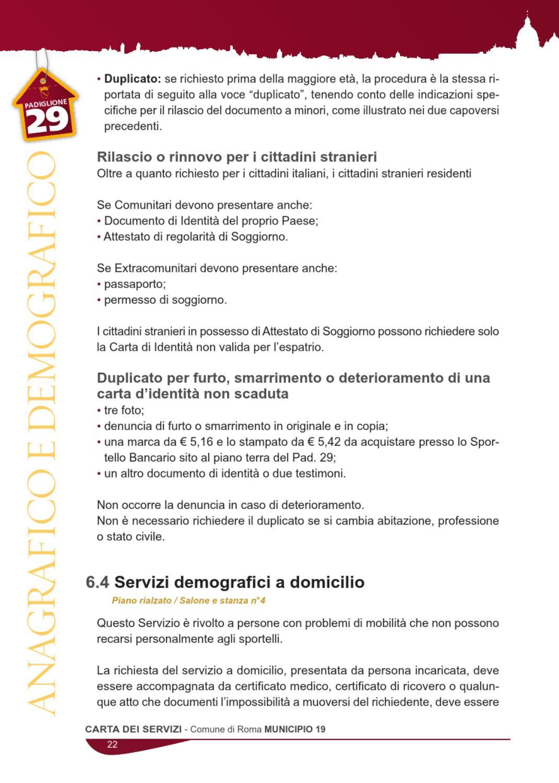 Permesso Di Soggiorno Smarrito | Loreto Carta D Identità Elettronica ...