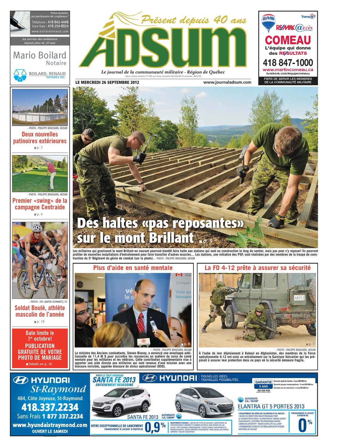 Journal Adsum 26 Septembre 2012 By Journal Adsum Issuu