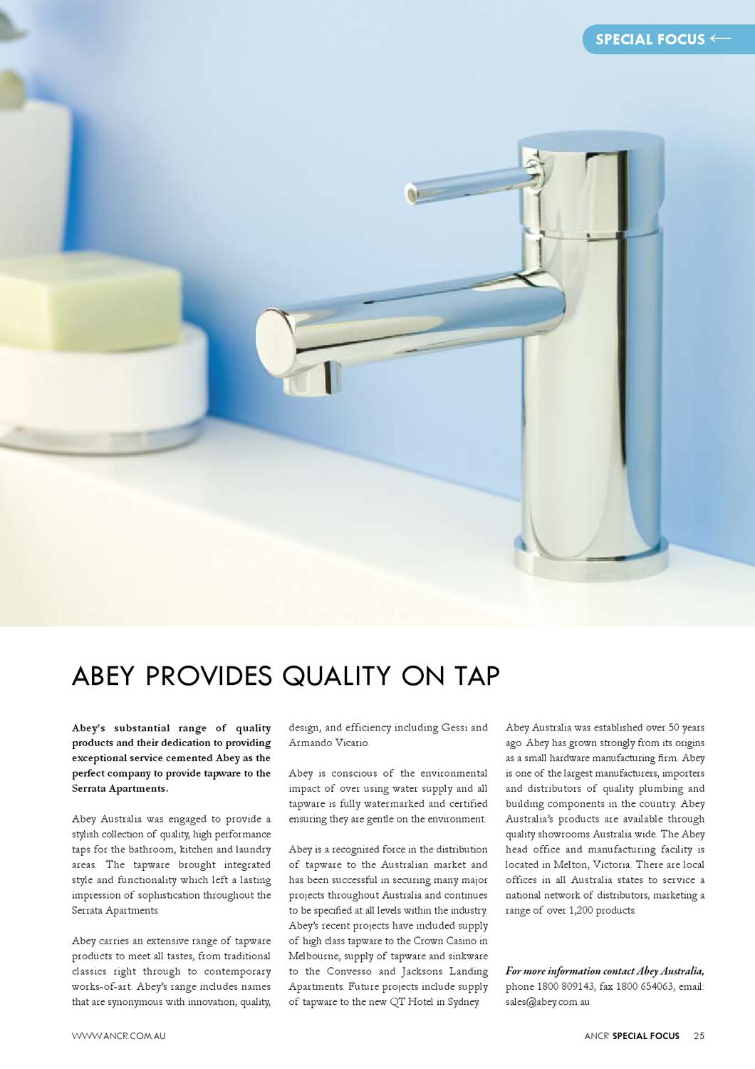 Traditional Taps Australia The Australian National Construction Review