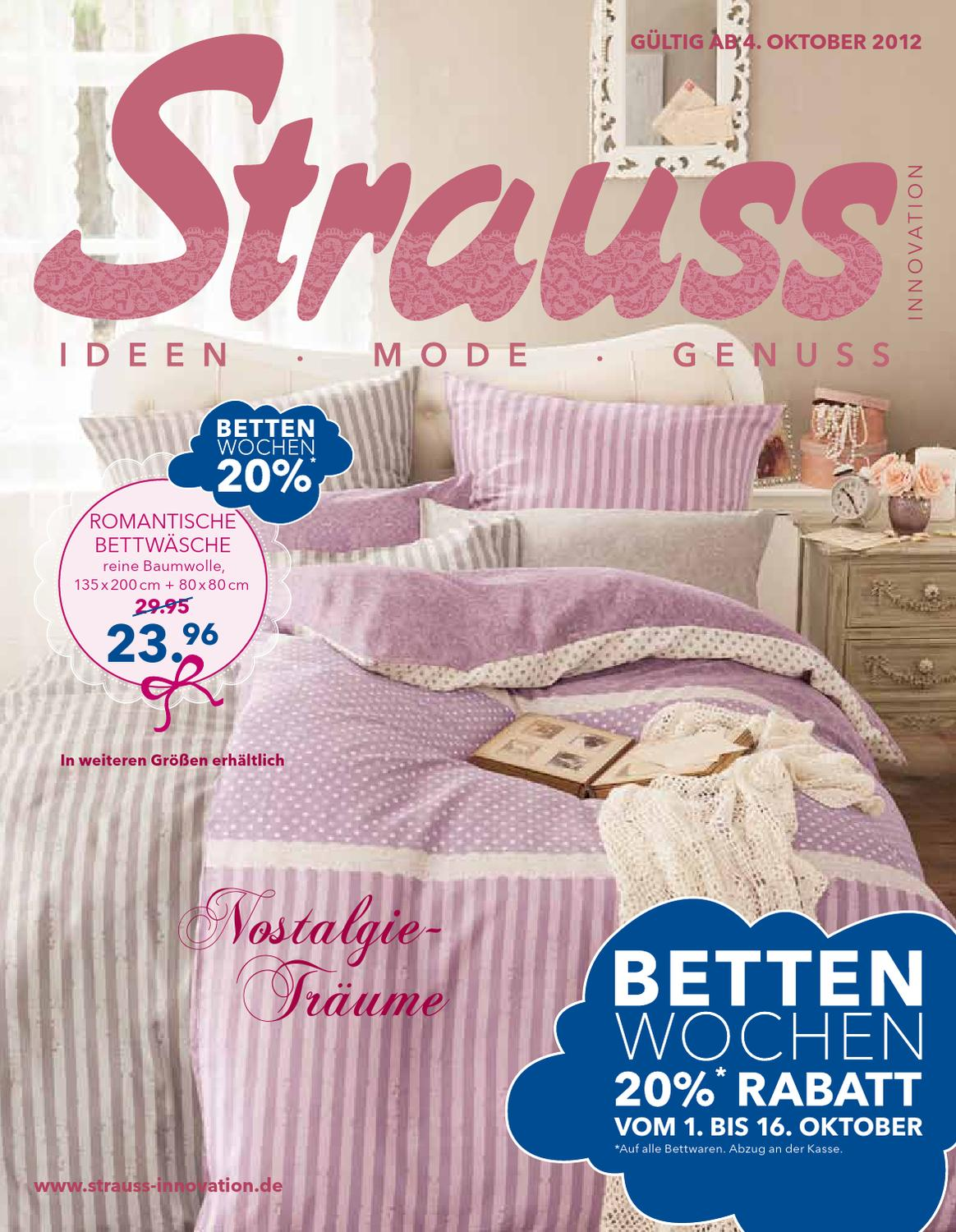 Bettdecken Strauss Innovation Nostalgie Träume By Strauss Innovation Gmbh Co Kg Issuu