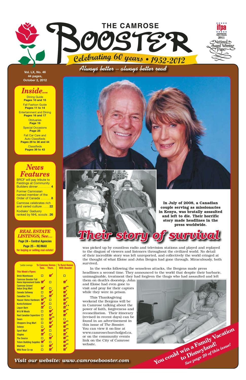 Sofaland Spain The Camrose Booster October 2 2012 By The Camrose Booster Issuu