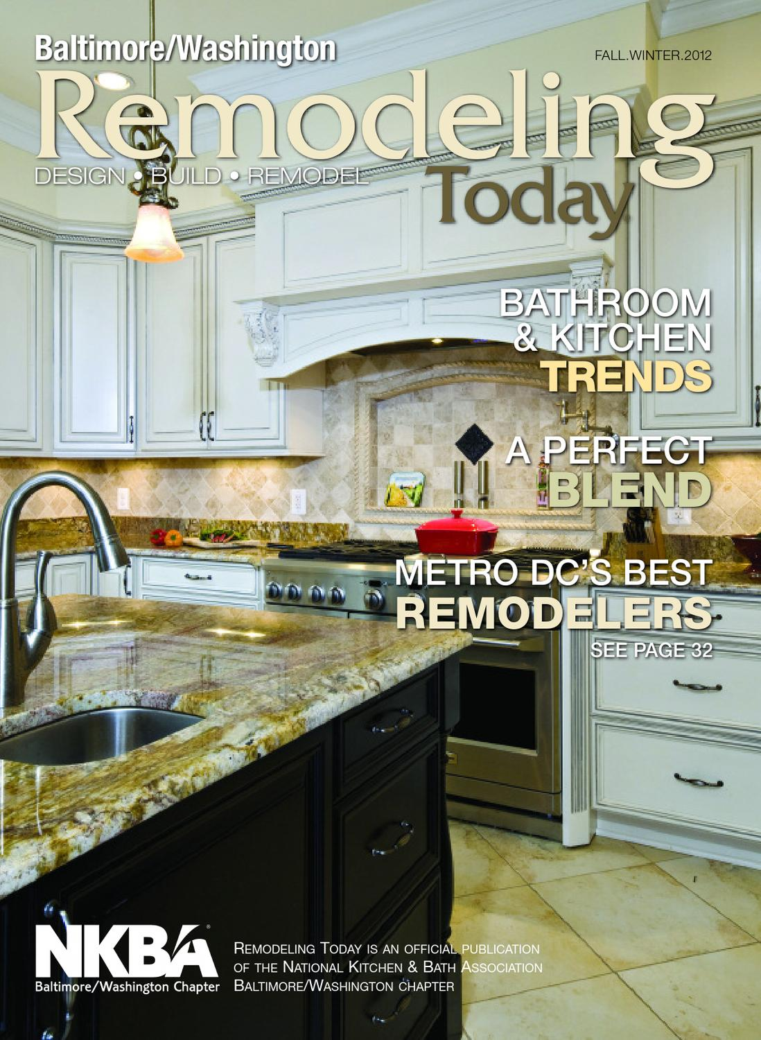 rtfw12dc baltimore kitchen remodeling Remodeling Today Baltimore Washington Fall Winter by Remodelinform issuu