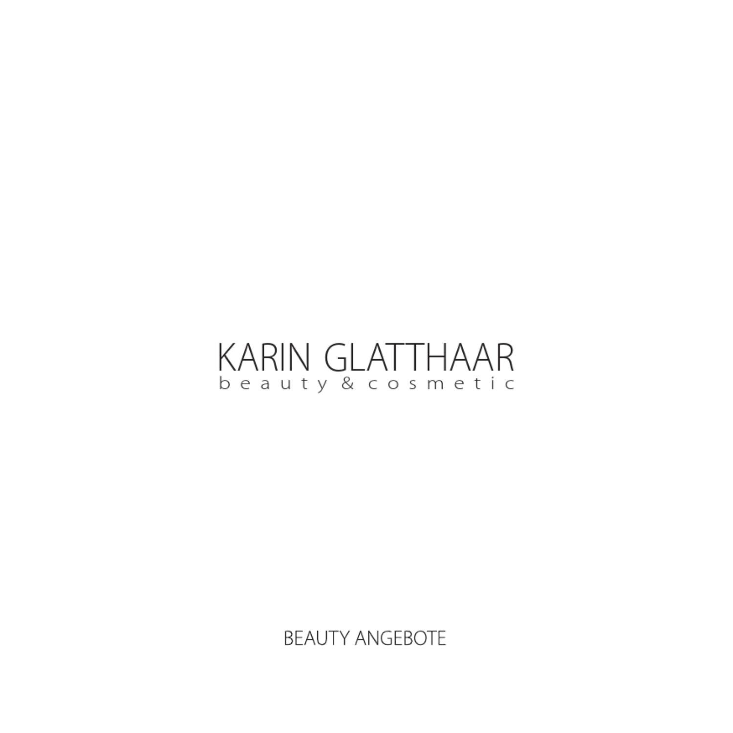 Glatthaar Karin Glatthaar Beauty Cosmetic By Glatthaar Media Issuu
