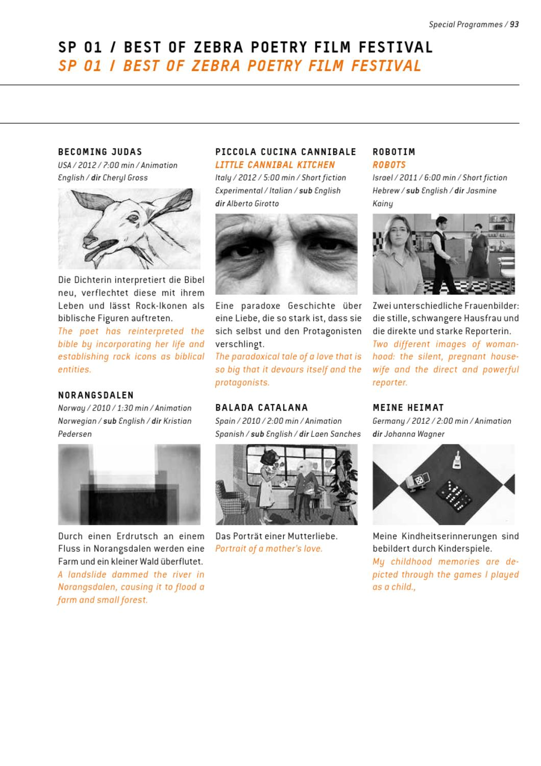 Festival Catalogue Part 2 Special Programs By Interfilm Berlin Issuu