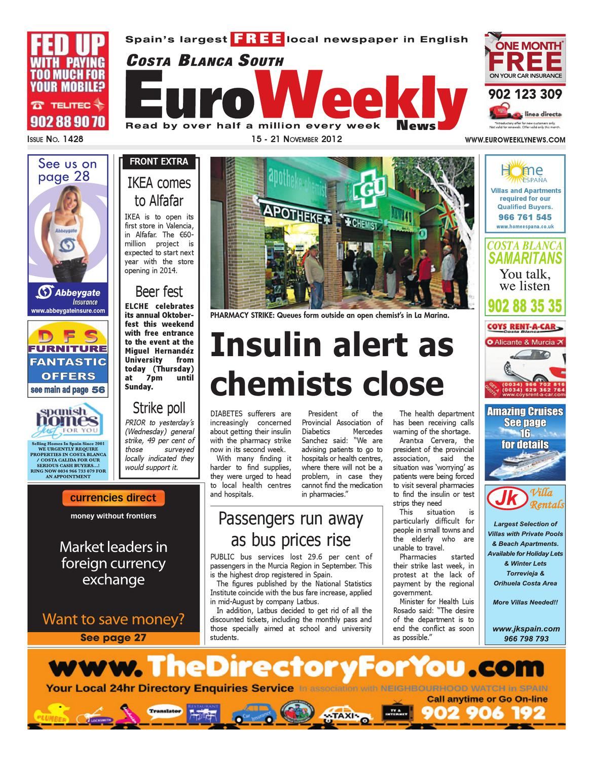 Muebles Chacon Mollet Costa Blanca South 15 21 November 2012 Issue 1428