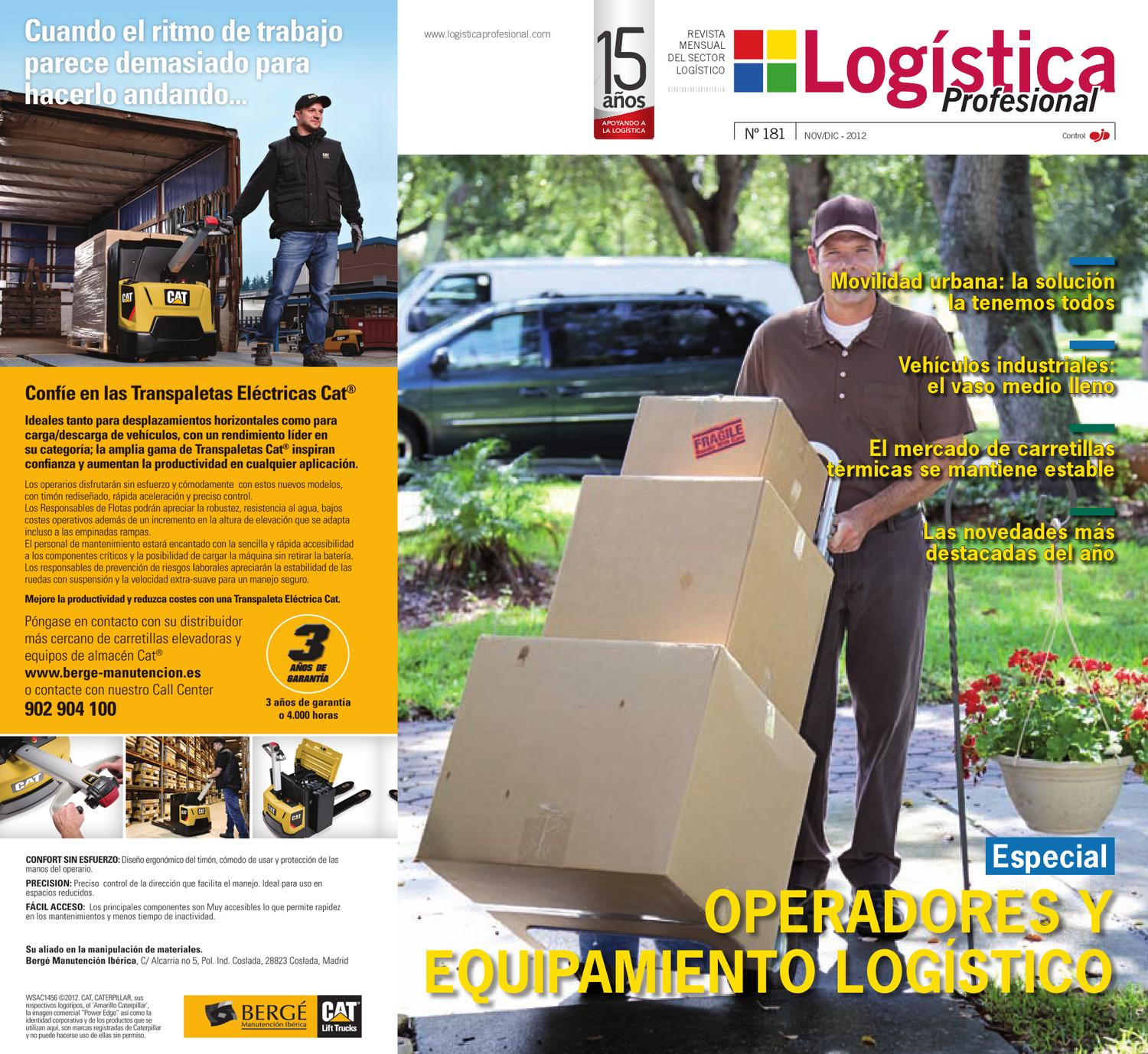 Euribor 1 Mes Logistica 181 By Digital Newspapers S L Issuu