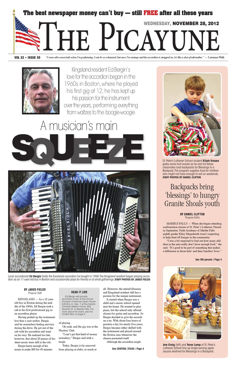 Christian Materne Und Judith Williams The Picayune November 28 Edition
