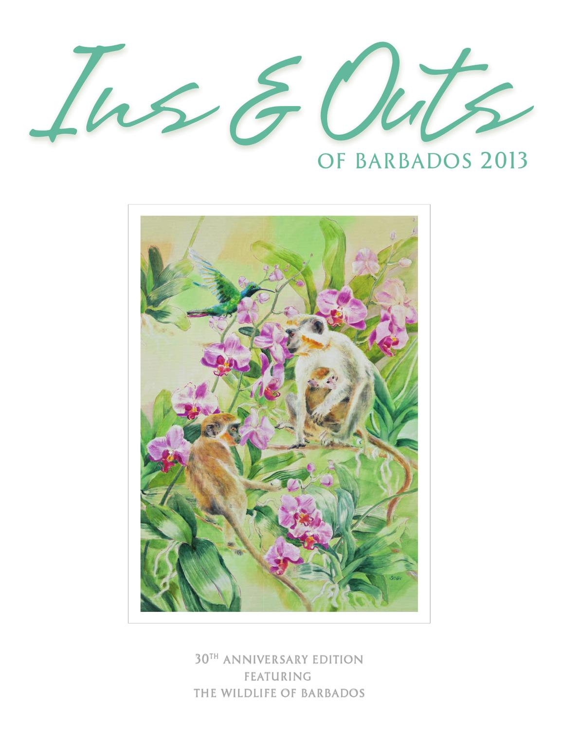 Canape Cuir Weston Ins And Outs Of Barbados 2013 By Miller Publishing Co Ltd