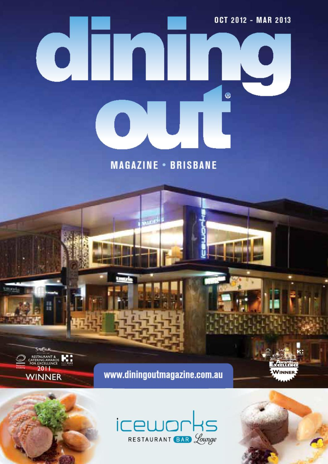 Cucina Restaurant Southbank Brisbane Dining Out Magazine Brisbane By Dining Out Issuu