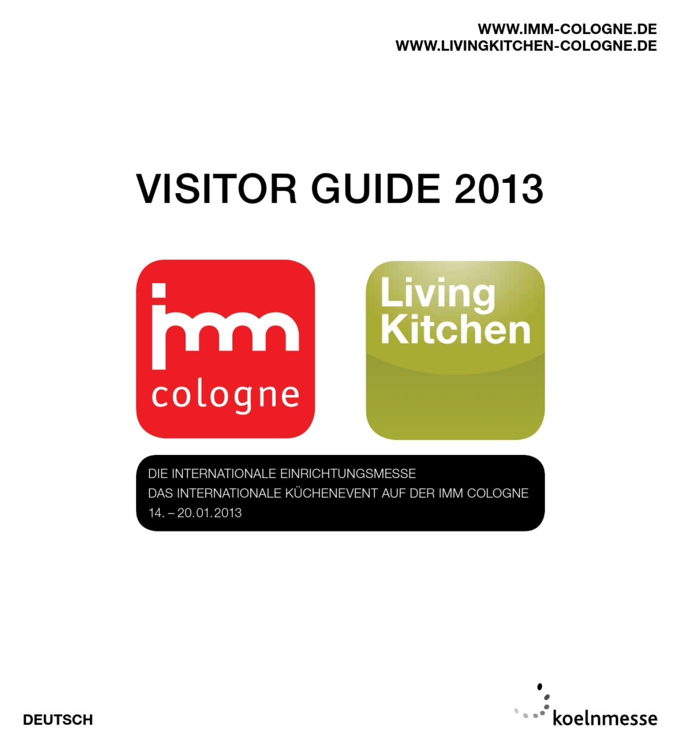Woody-möbel Gmbh & Co. Kg Visitor Guide Imm Cologne Livingkitchen 2013
