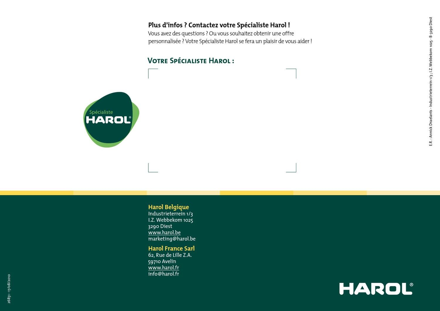 Harol Protections Solaires Harol By Habitos Be Bvba Issuu