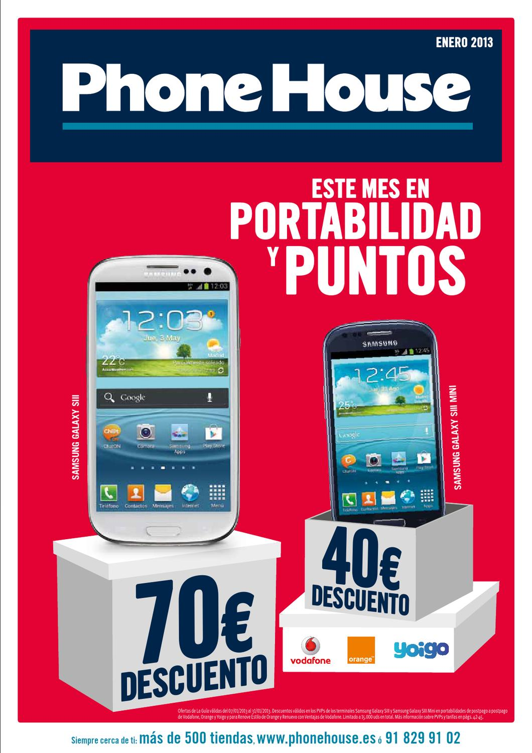 Ofertas Moviles Libres The Phone House Cat Logo Phone House Ofertas Y Rebajas De Enero 2013 By