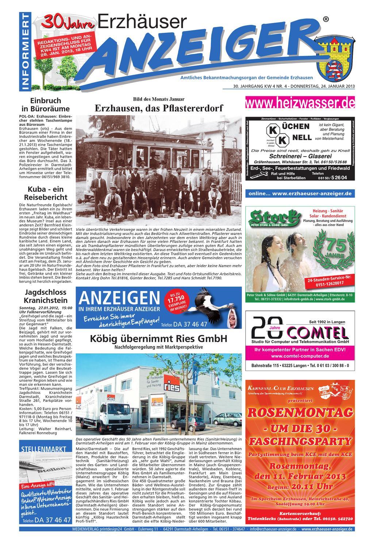 Erzhuser Anzeiger KW04 by printdesign24gmbh